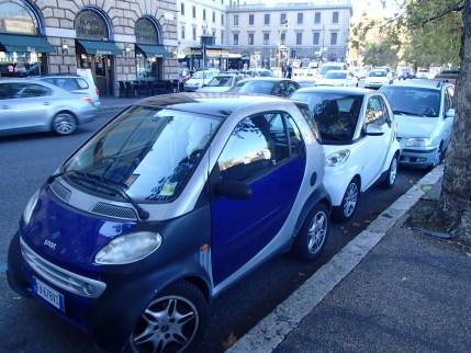 so many Smartcars
