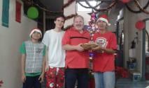The boys - Beckham, Sam, Michael, Khao