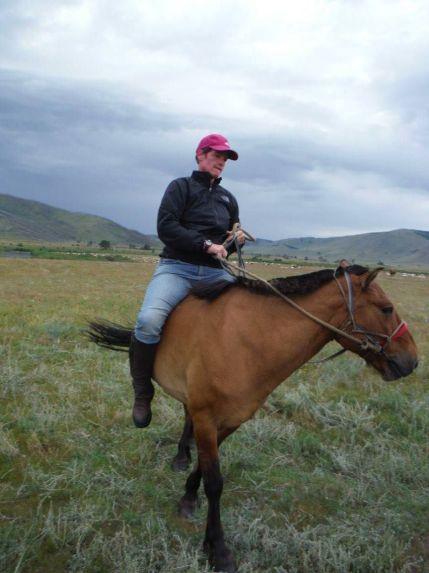 look ma - no saddle
