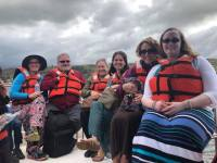 PHOTO - Ecuador - Group Photo on Boat - 180507